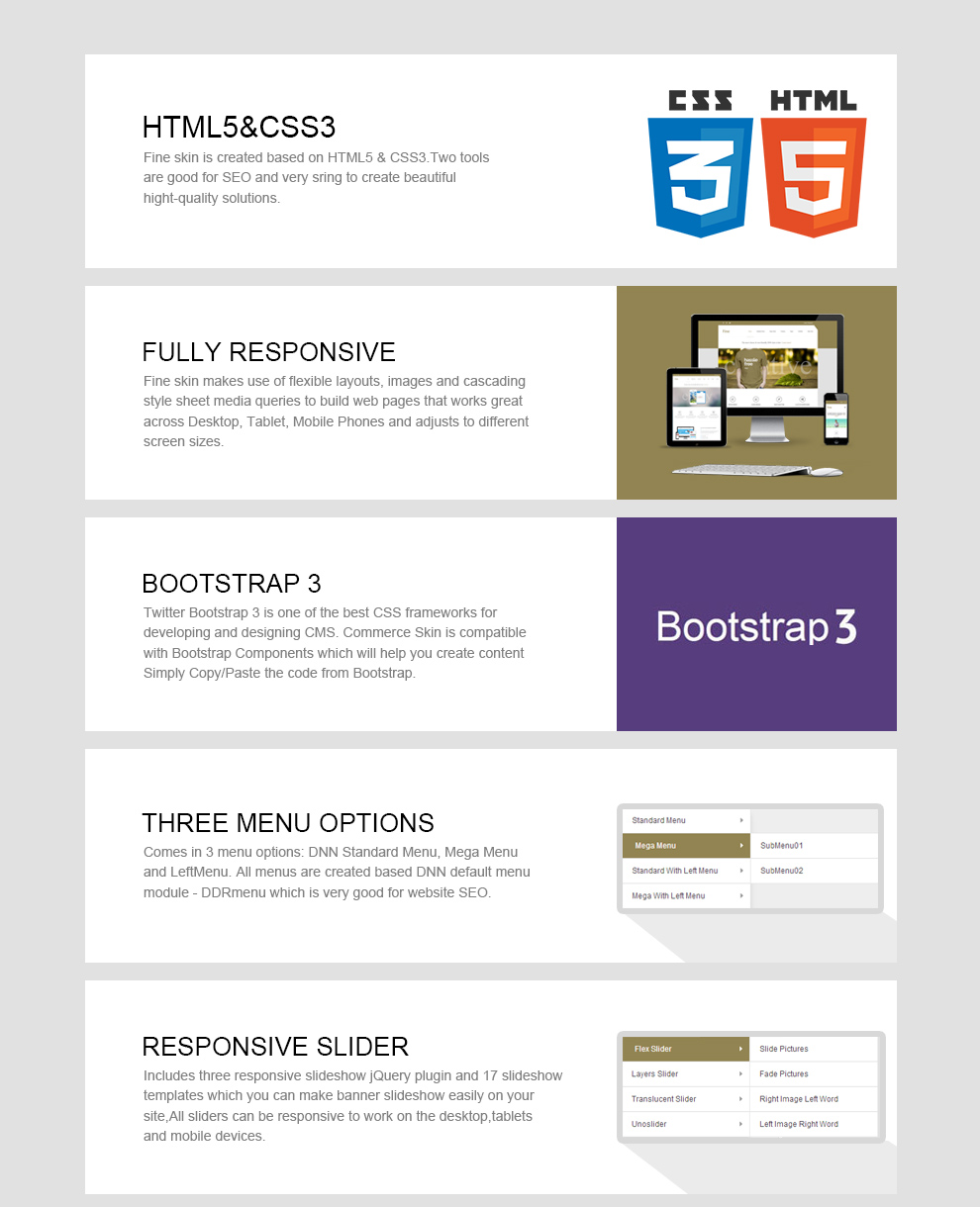 DNN Store > Home > Product Details > Fine Theme // Bootstrap 3 ...